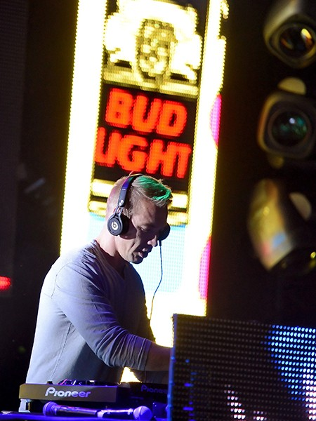 Diplo performs during Whatever, USA