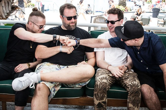 Claude VonStroke and the Dirtybird crew at the Ultra Music Festival 2014