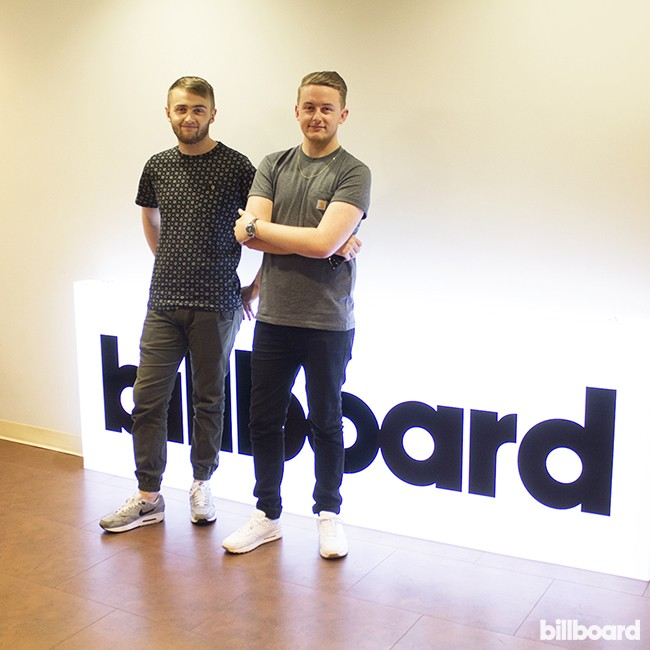 Disclosure visits Billboard's New York offices on June 23, 2015.