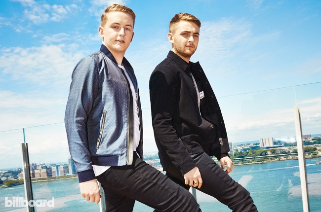 Disclosure photographed at Le Bain at The Standard, High Line on Aug. 10, 2015 in New York City.