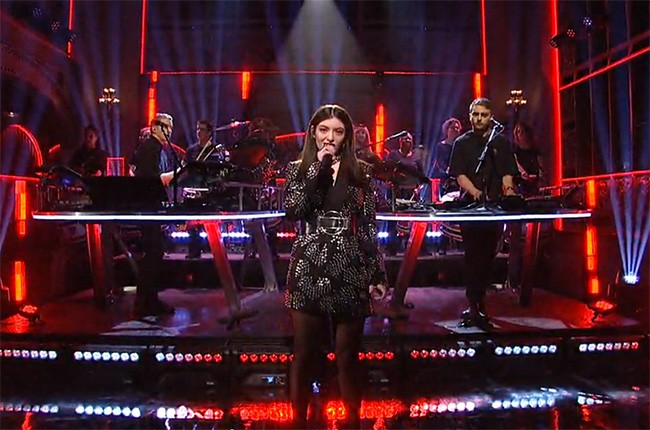 Disclosure and Lorde on SNL