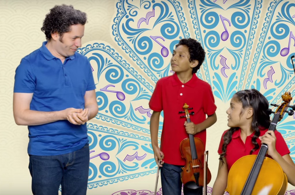Gustavo Dudamel, Disney Junior