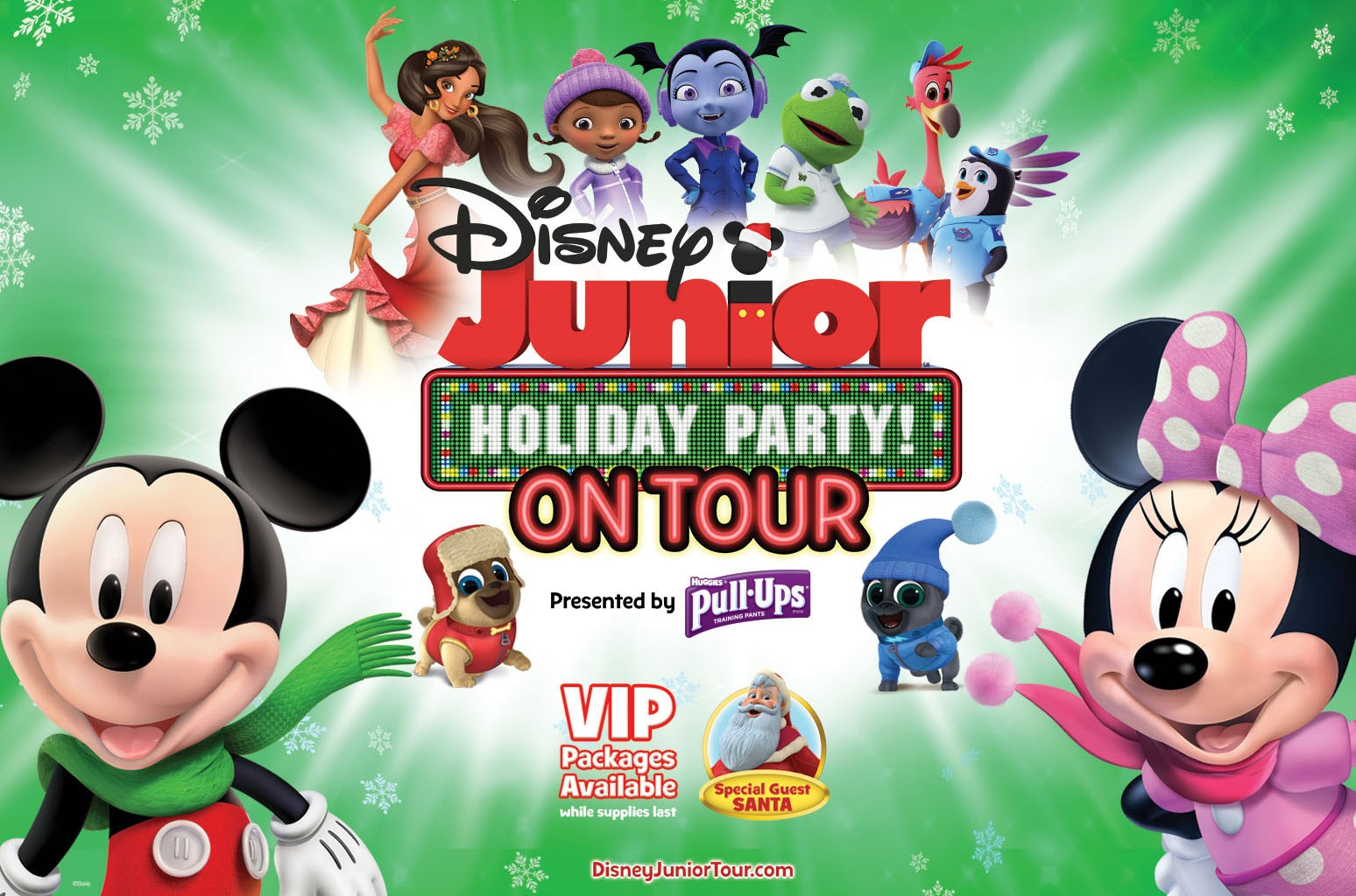 Disney Junior Holiday Party! On Tour