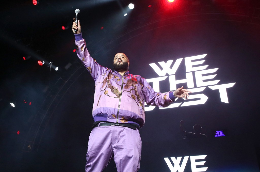 DJ Khaled performs onstage at night two of the STAPLES Center Concert, presented by Coca-Cola, during the 2017 BET Experience at LA Live on June 23, 2017 in Los Angeles.