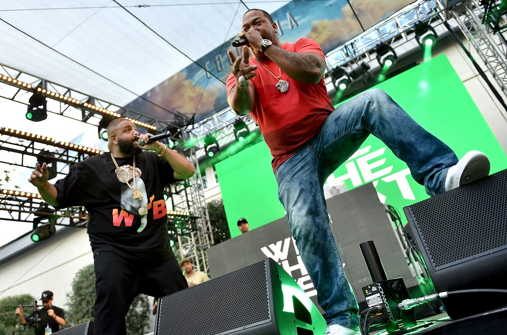 DJ Khaled and Busta Rhymes