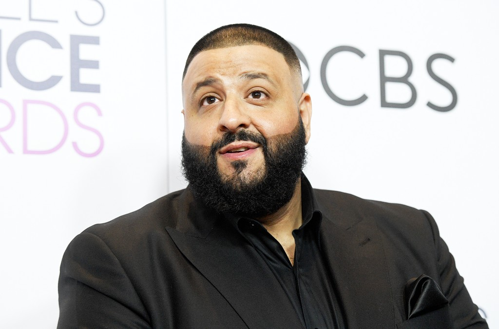 DJ Khaled poses in the press room during the People's Choice Awards 2017 at Microsoft Theater on Jan. 18, 2017 in Los Angeles.