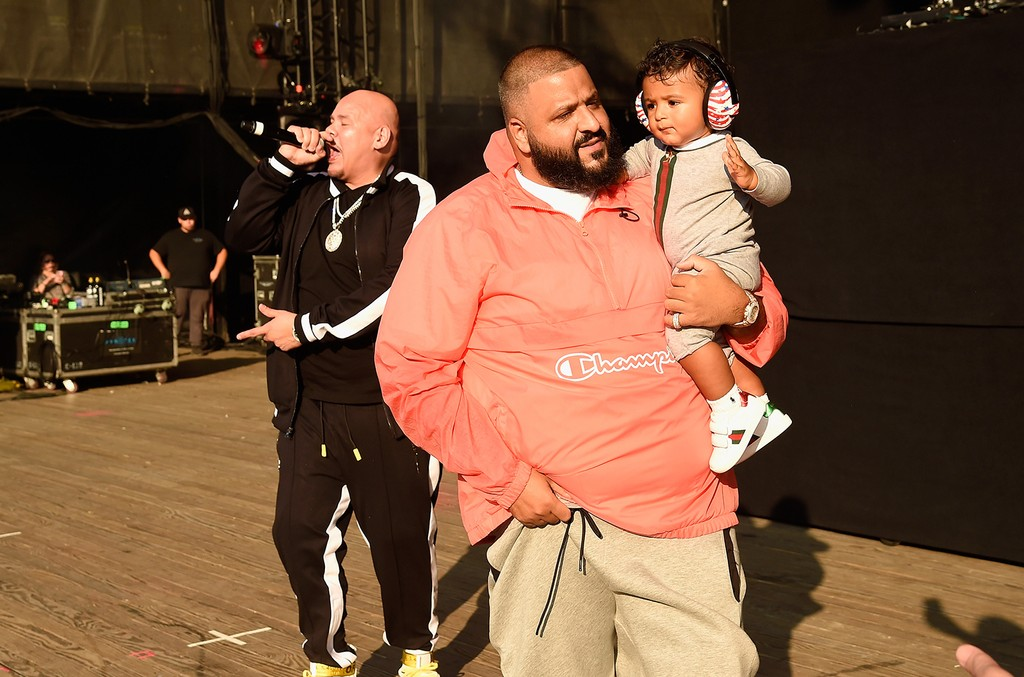 Fat Joe, DJ Khaled and Asahd Tuck Khaled, Hot 100 Festival 2017
