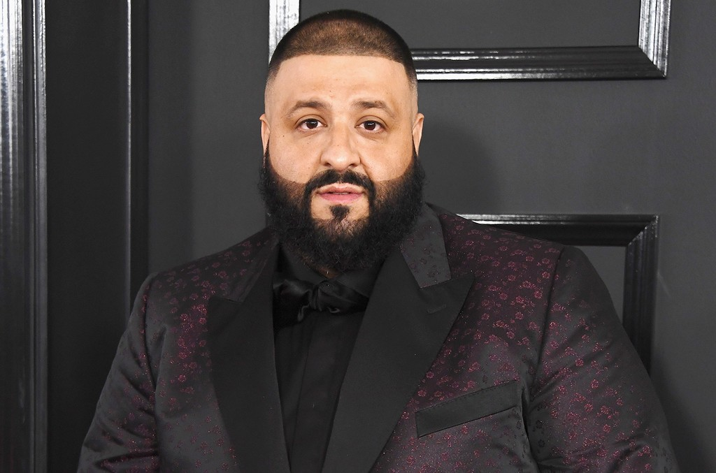 DJ Khaled attends The 59th Grammy Awards at Staples Center on Feb. 12, 2017 in Los Angeles.