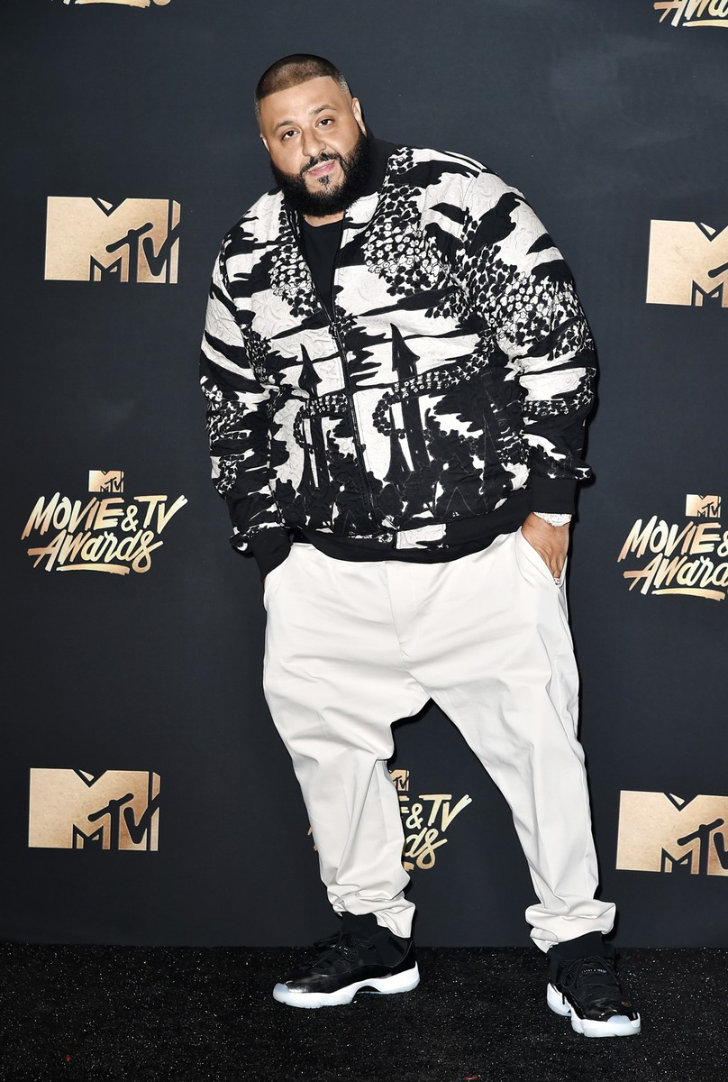 DJ Khaled attends the 2017 MTV Movie and TV Awards at The Shrine Auditorium on May 7, 2017 in Los Angeles.
