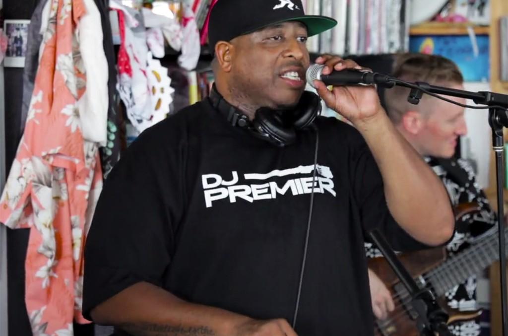 DJ Premier on NPR's Tiny Desk