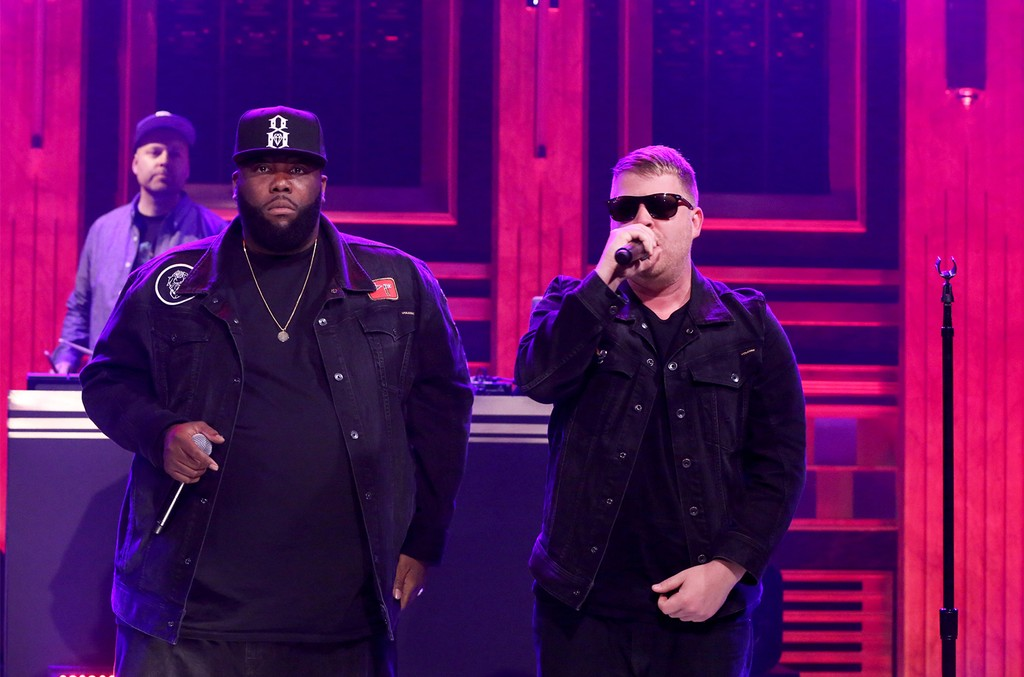 DJ Shadow, Killer Mike and Run The Jewels