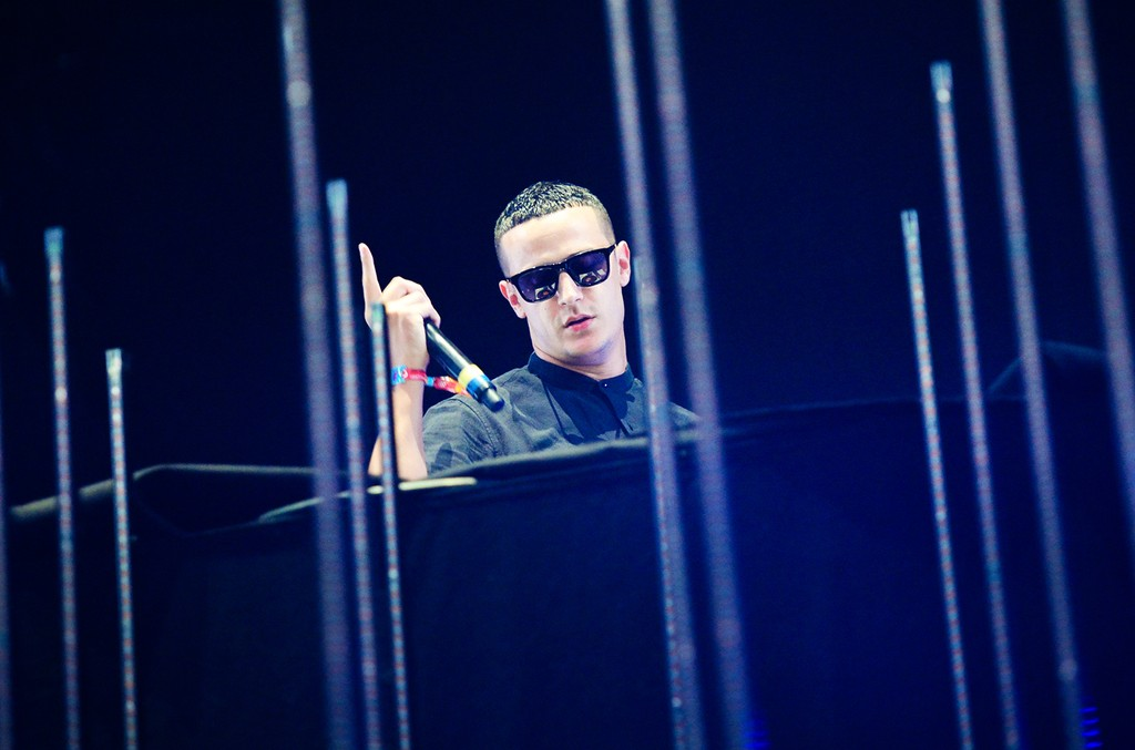 DJ Snake performs at the 2015 Coachella Music and Arts Festival