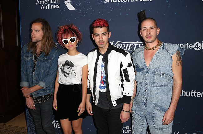 DNCE unite4 humanity 2016