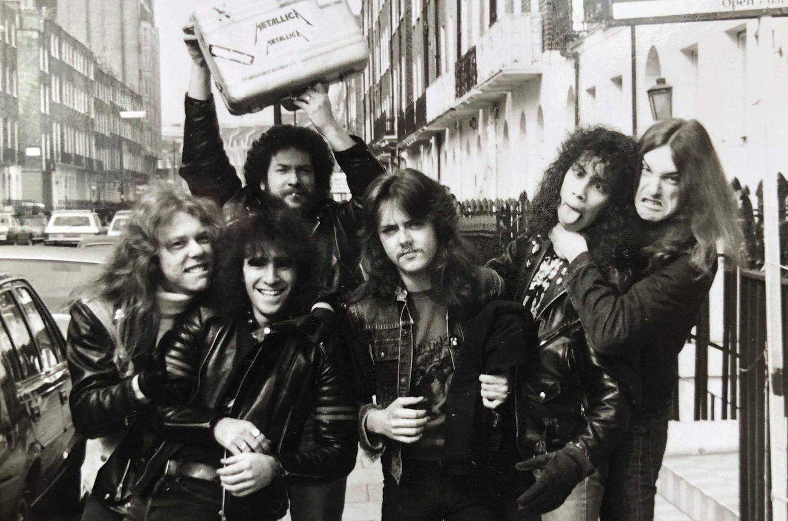 Jon Zazula and Metallica