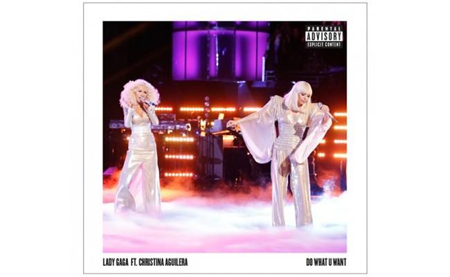 "Lady Gaga and Christina Aguilera ""Do What U Want"""