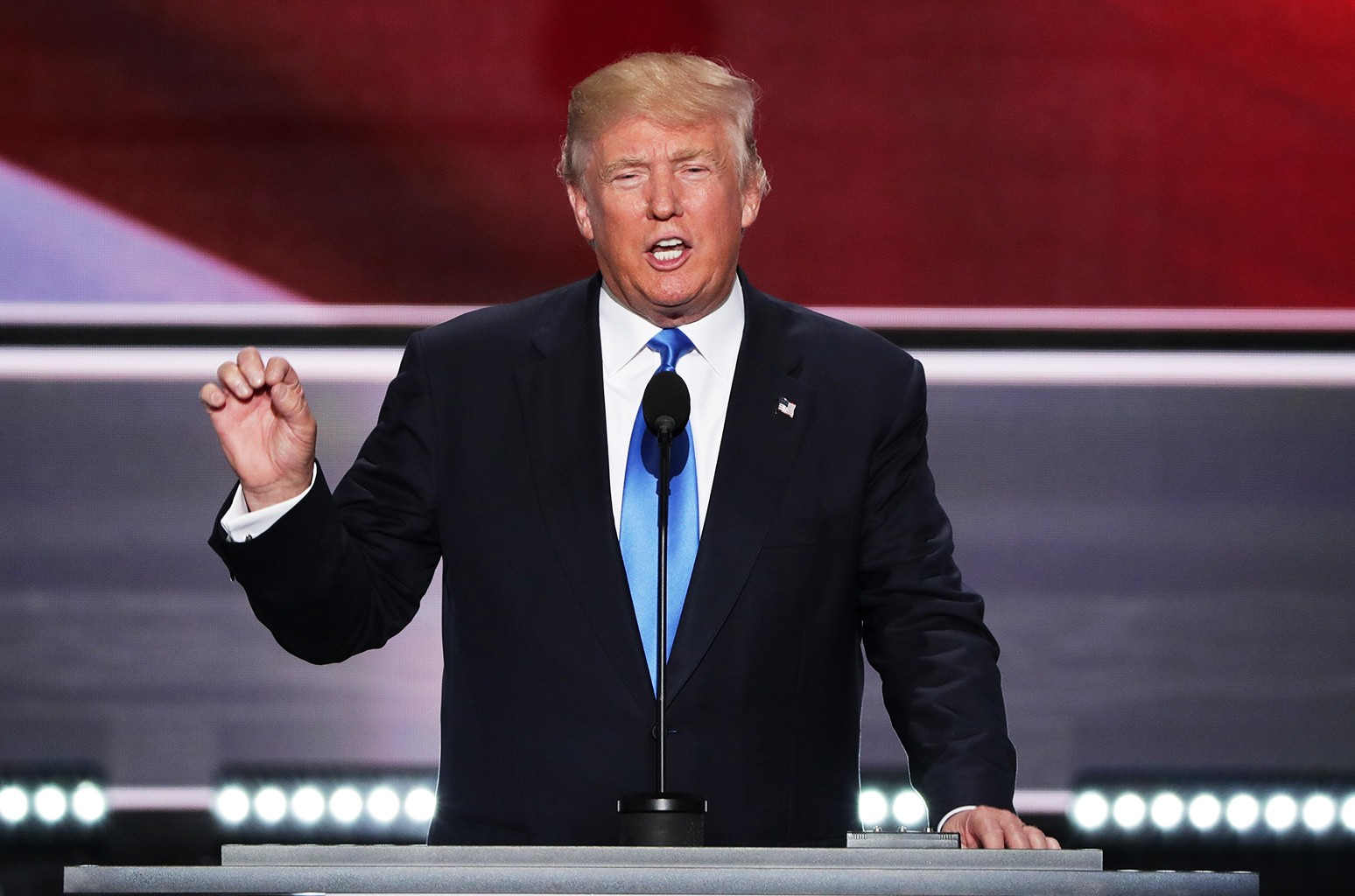 Donald Trump at the 2016 Republican National Convention