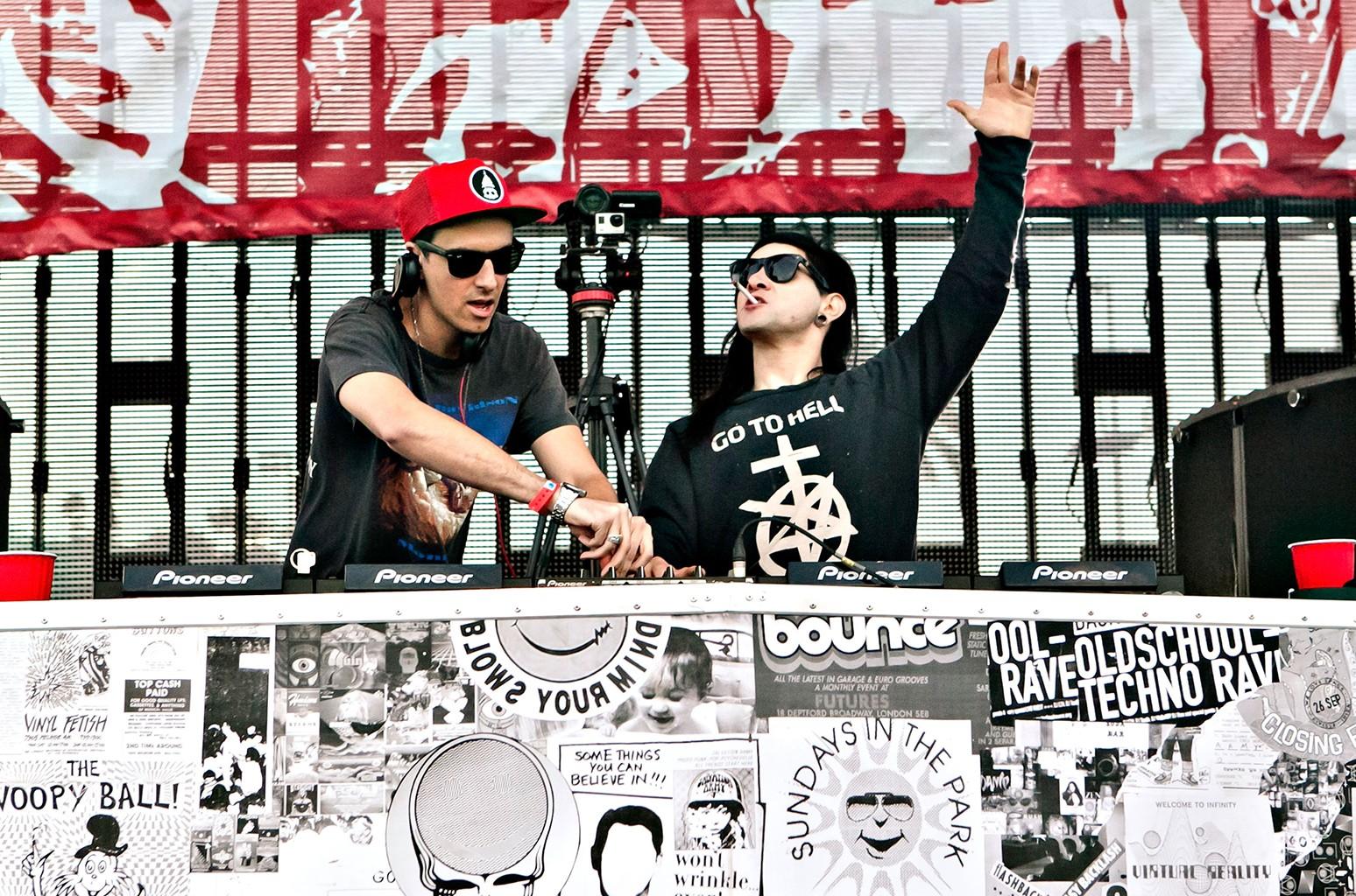 Skrillex and Boys Noize of Dog Blood