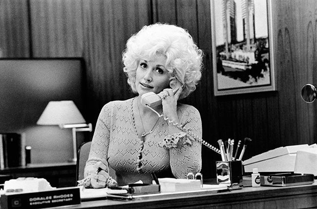 Dolly Parton Nine to Five, 2014.
