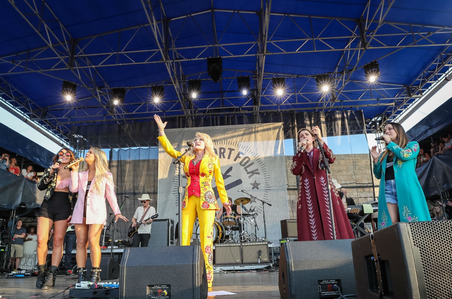 Amanda Shires, Maren Morris, Dolly Parton, Brandi Carlile & Natalie Hemby