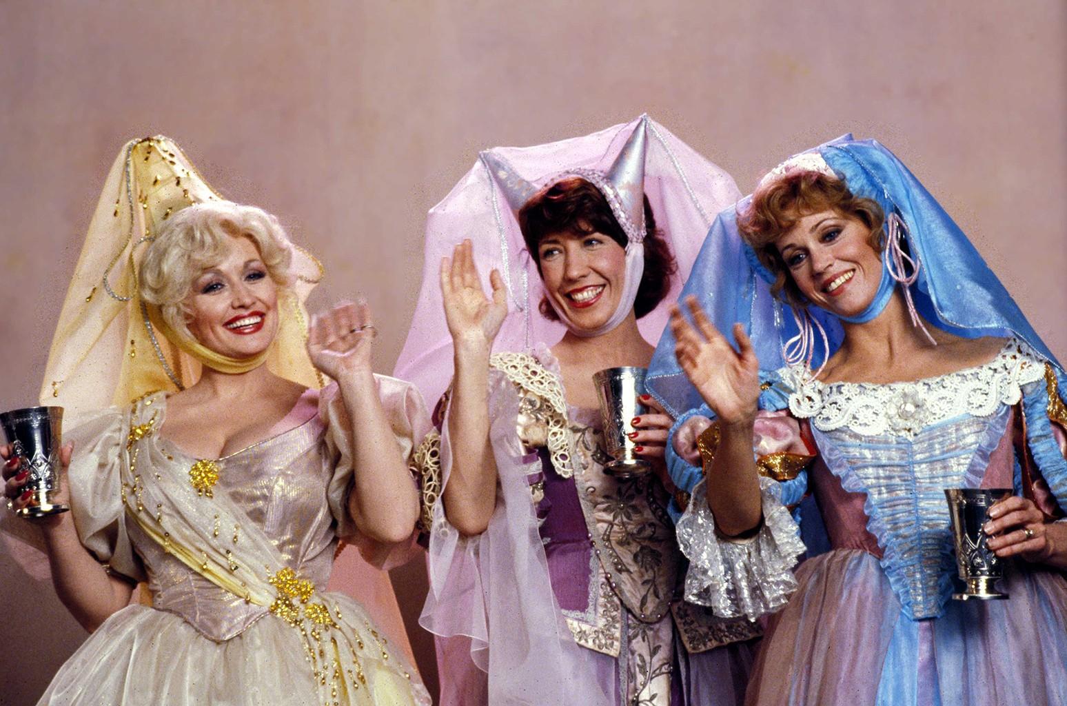 Dolly Parton, Lily Tomlin and Jane Fonda
