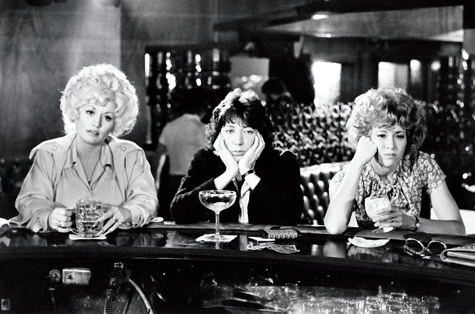 Dolly Parton, Lily Tomlin and Jane Fonda