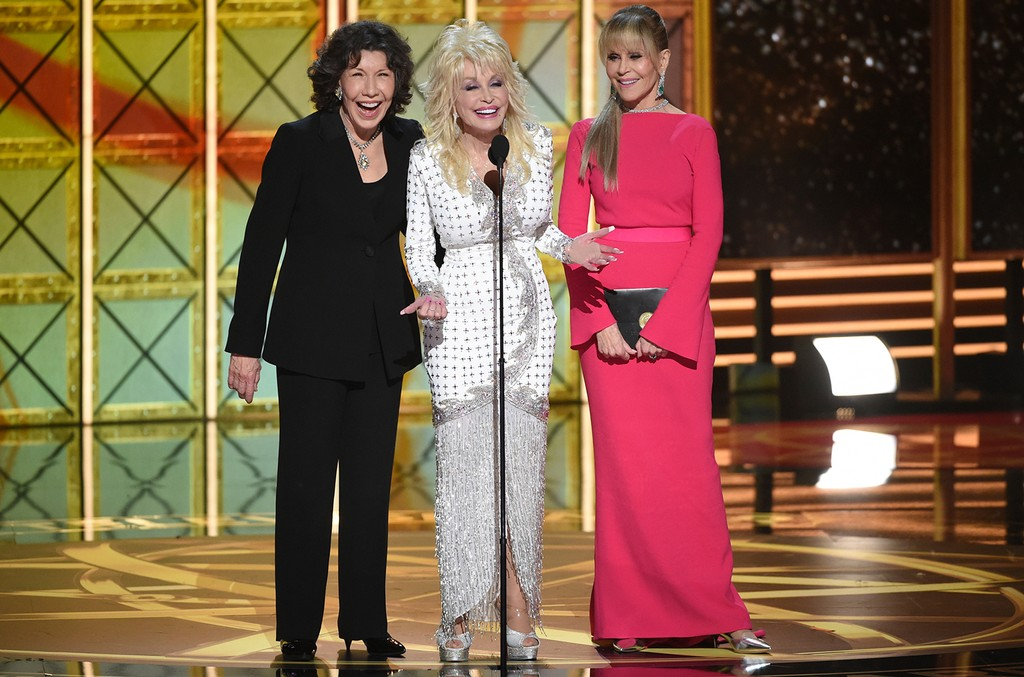 Lily Tomlin, Dolly Parton & Jane Fonda, 2017