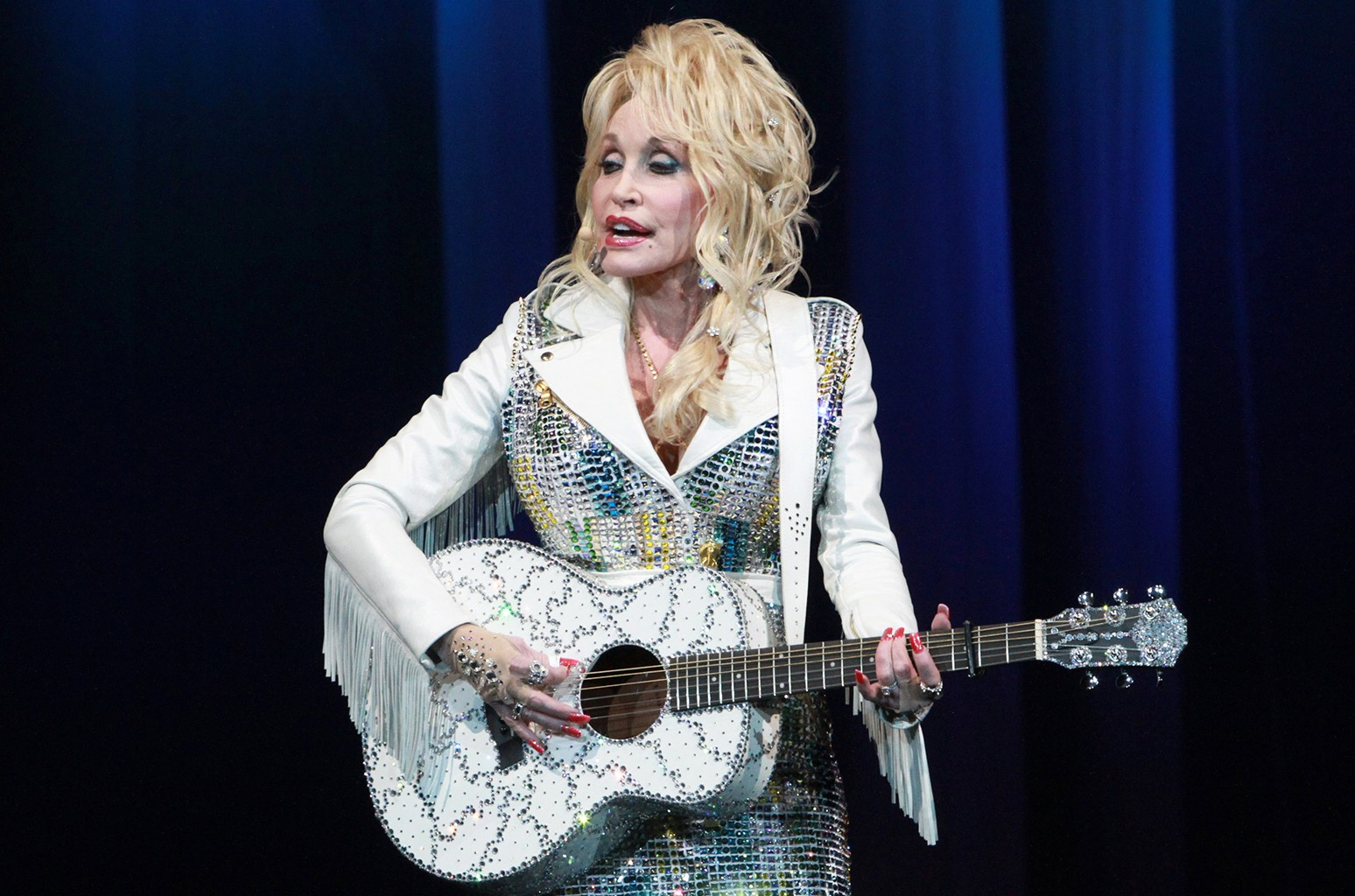 Dolly Parton performs at Infinite Energy Arena