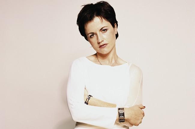 Dolores O'Riordan of The Cranberries, circa 2001.