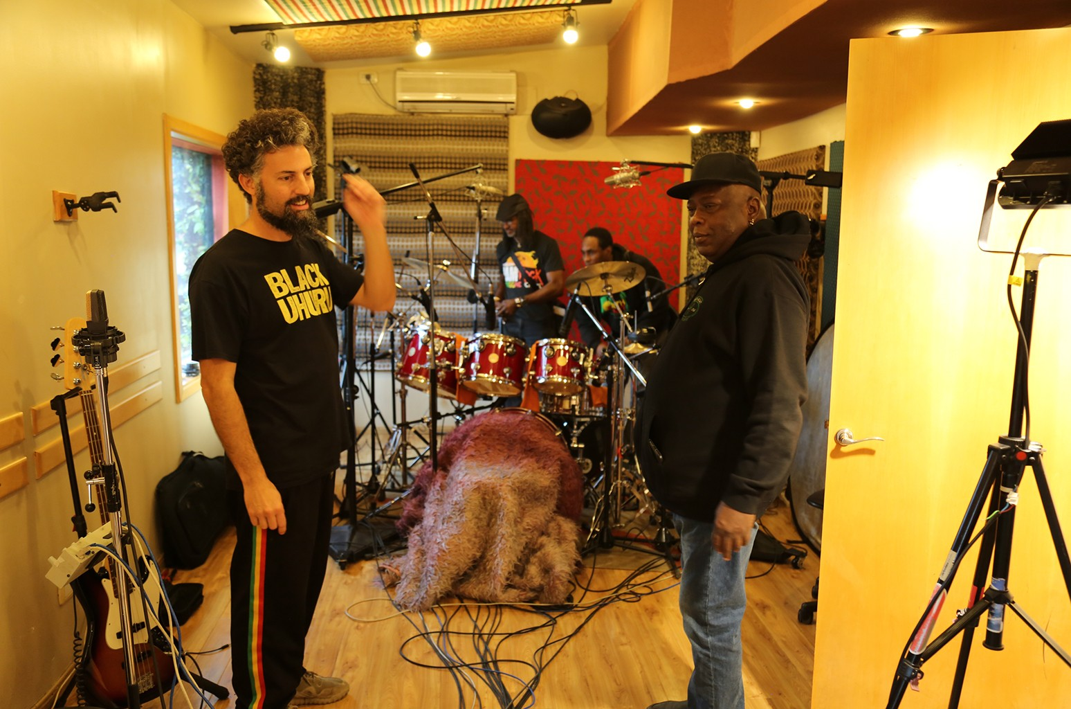 "Hernan ""Don Camel"" Sforzini, Sly Dunbar and Robbie Shakespeare"
