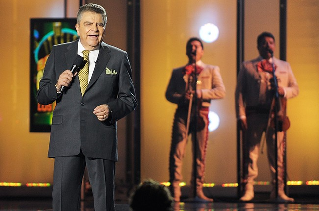 "Television personality Don Francisco of Univision's ""Sabado Gigante"" host on May 14, 2010."