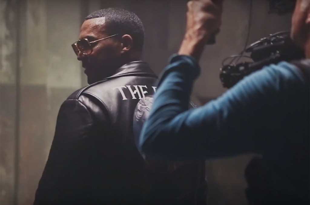 Don Omar in a behind the scenes teaser for Te Quiero Pa'Mi