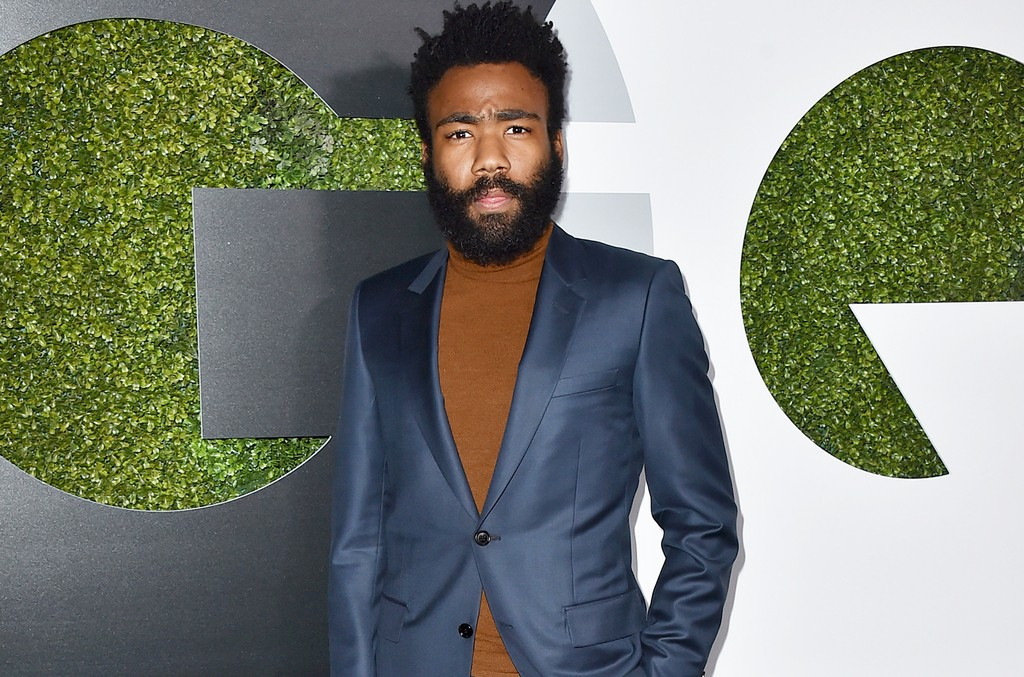 Donald Glover arrives at the GQ Men of the Year Party