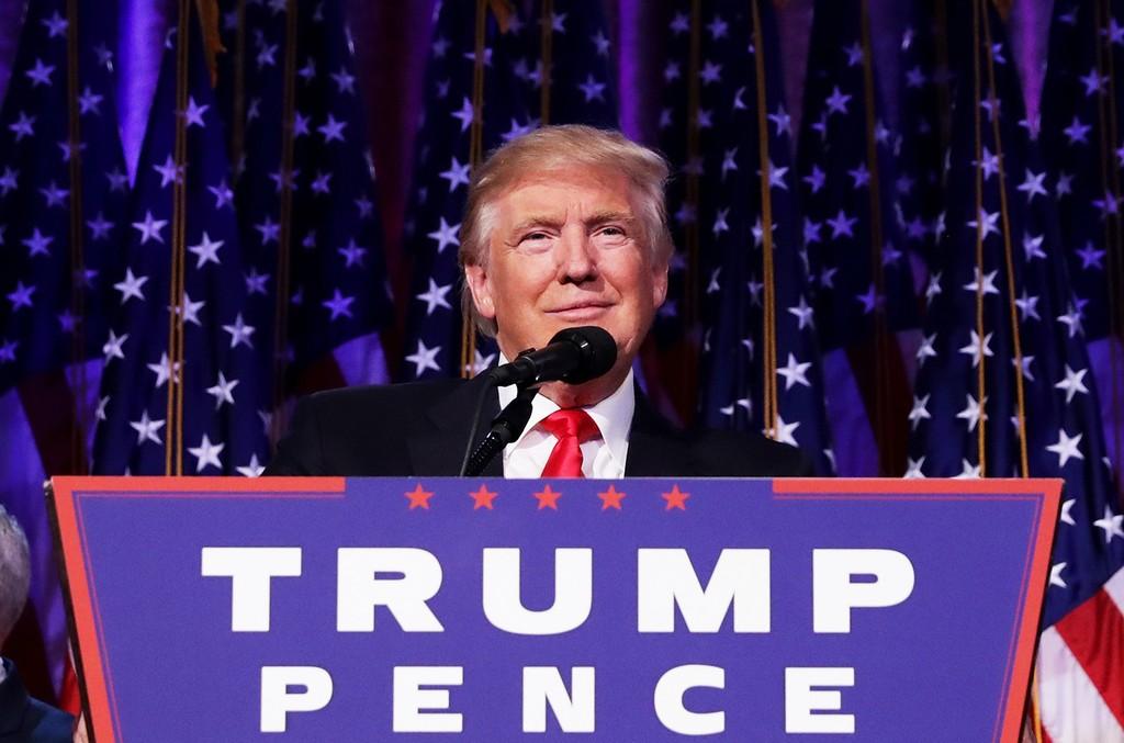 Donald Trump in 2016
