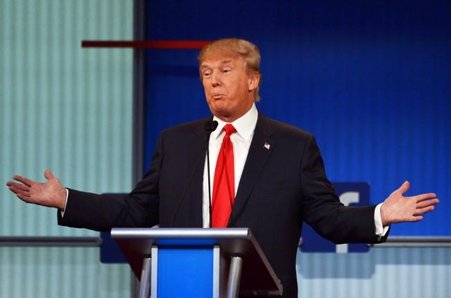 Donald Trump Republican presidential primary debate 2015
