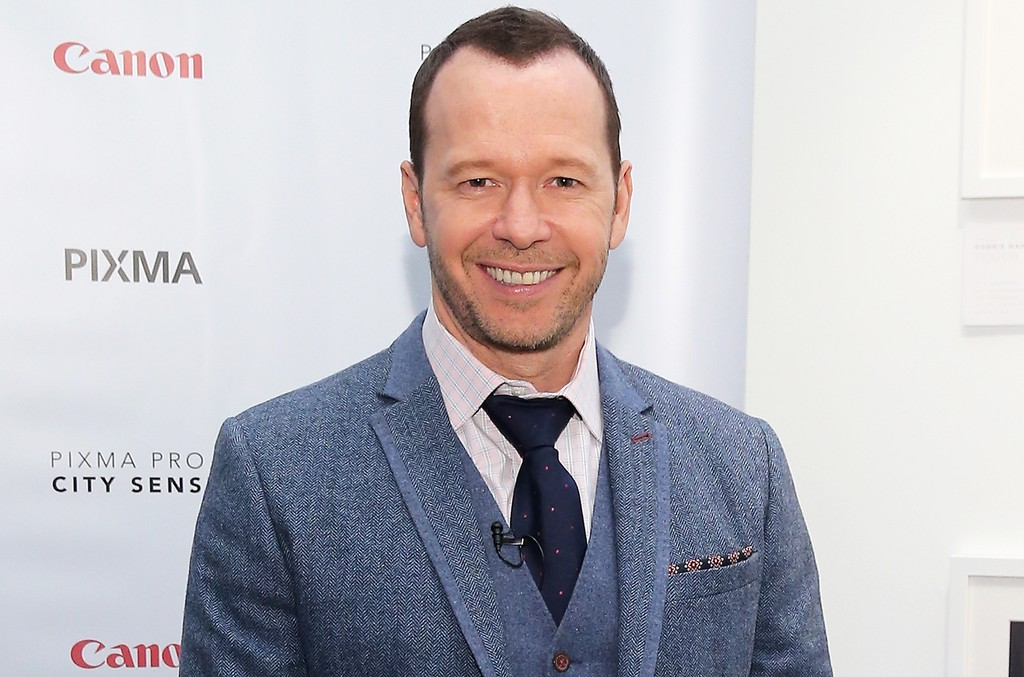 Donnie Wahlberg at the Canon PIXMA PRO City Senses Gallery at EpiCenter in Boston on Sept. 17, 2014.