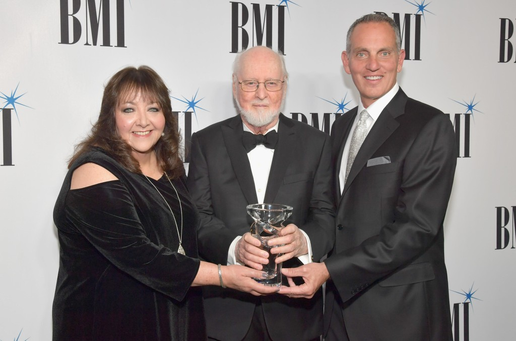 Doreen Ringer-Ross, John Williams and Mike O'Neill at the 34th Annual BMI Film, TV & Visual Media Awards.