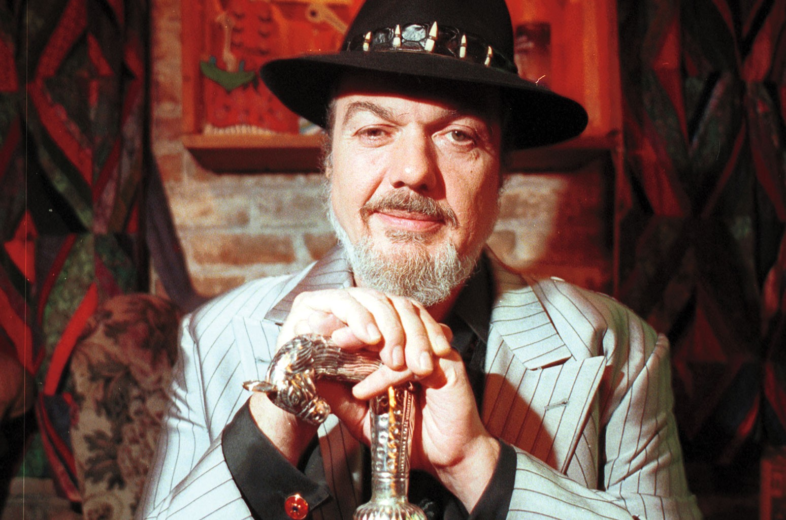 Dr. John in New Orleans in 2000.