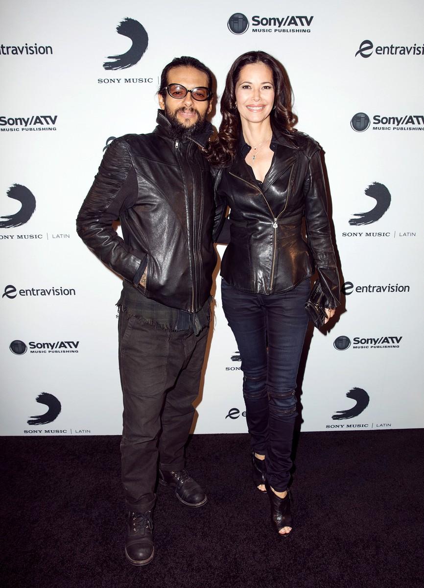 Draco Rosa & Angela Alvarado