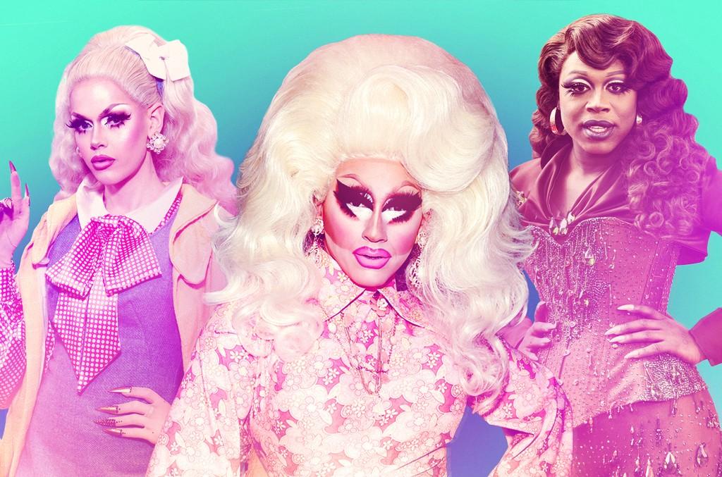 (L-R) Blair St. Clair, Trixie Mattel & Bob the Drag Queen