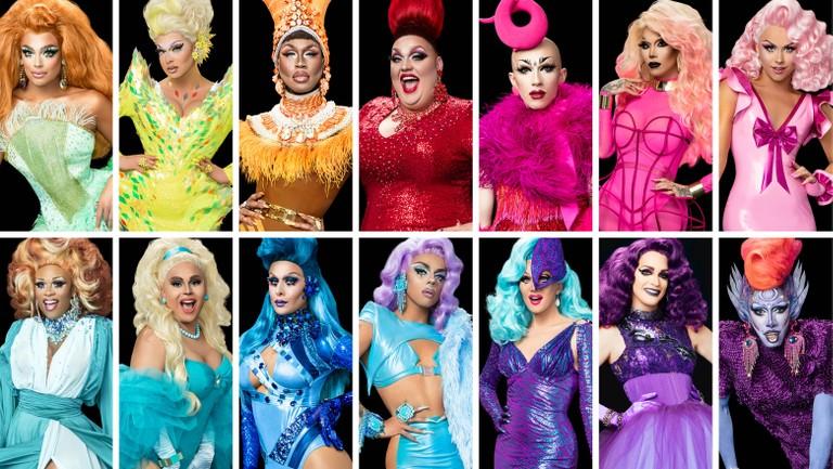<p>The cast of RuPaul&#39&#x3B;s Drag Race Season 9.</p>