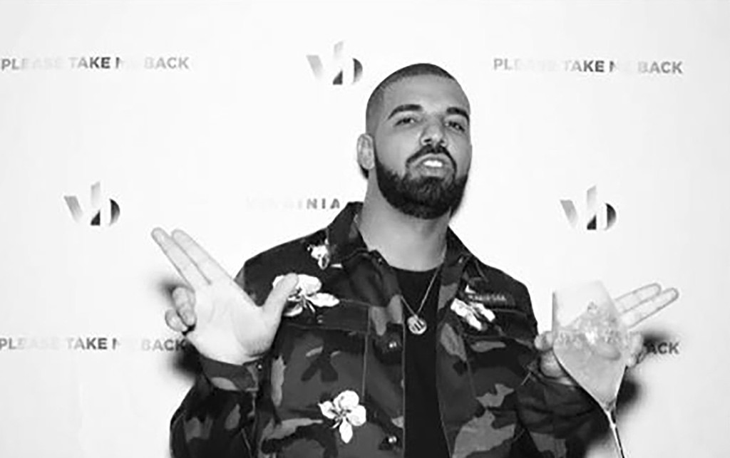 Drake celebrates the release of his album, More Life, in London on March 18,2017.