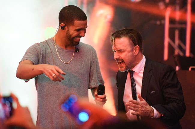 drake-david-arquette-party-super-bowl-weekend-2015-billboard-650