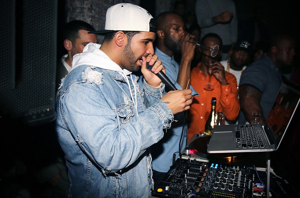 Drake guest DJs in New York City
