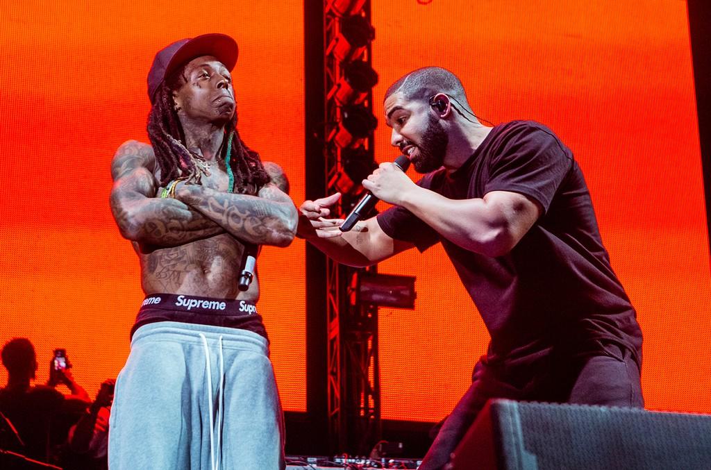 Lil Wayne and Drake in 2015