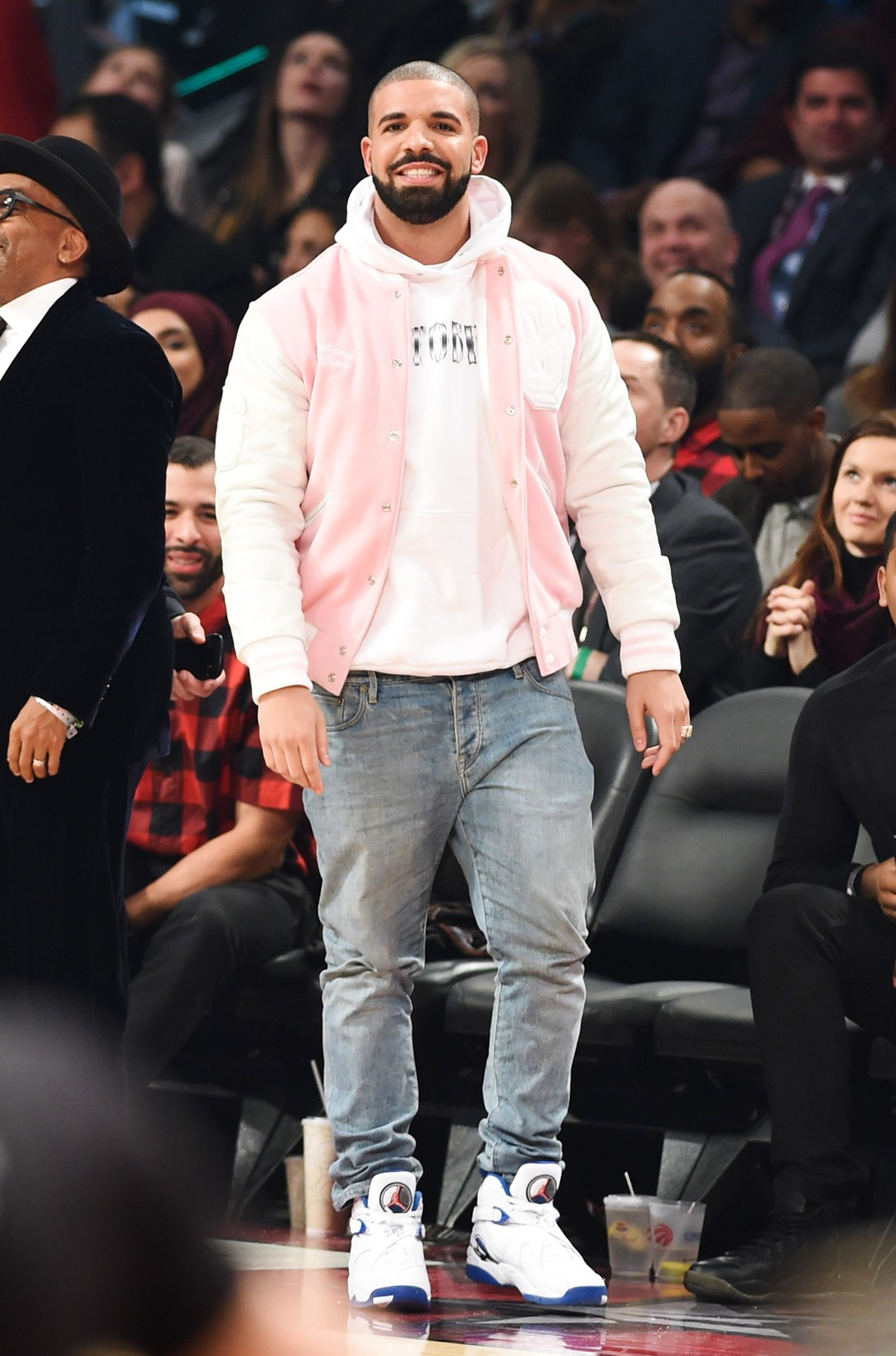 Drake attends the 2016 NBA All-Star Saturday Night at Air Canada Centre on Feb. 13, 2016 in Toronto, Canada.