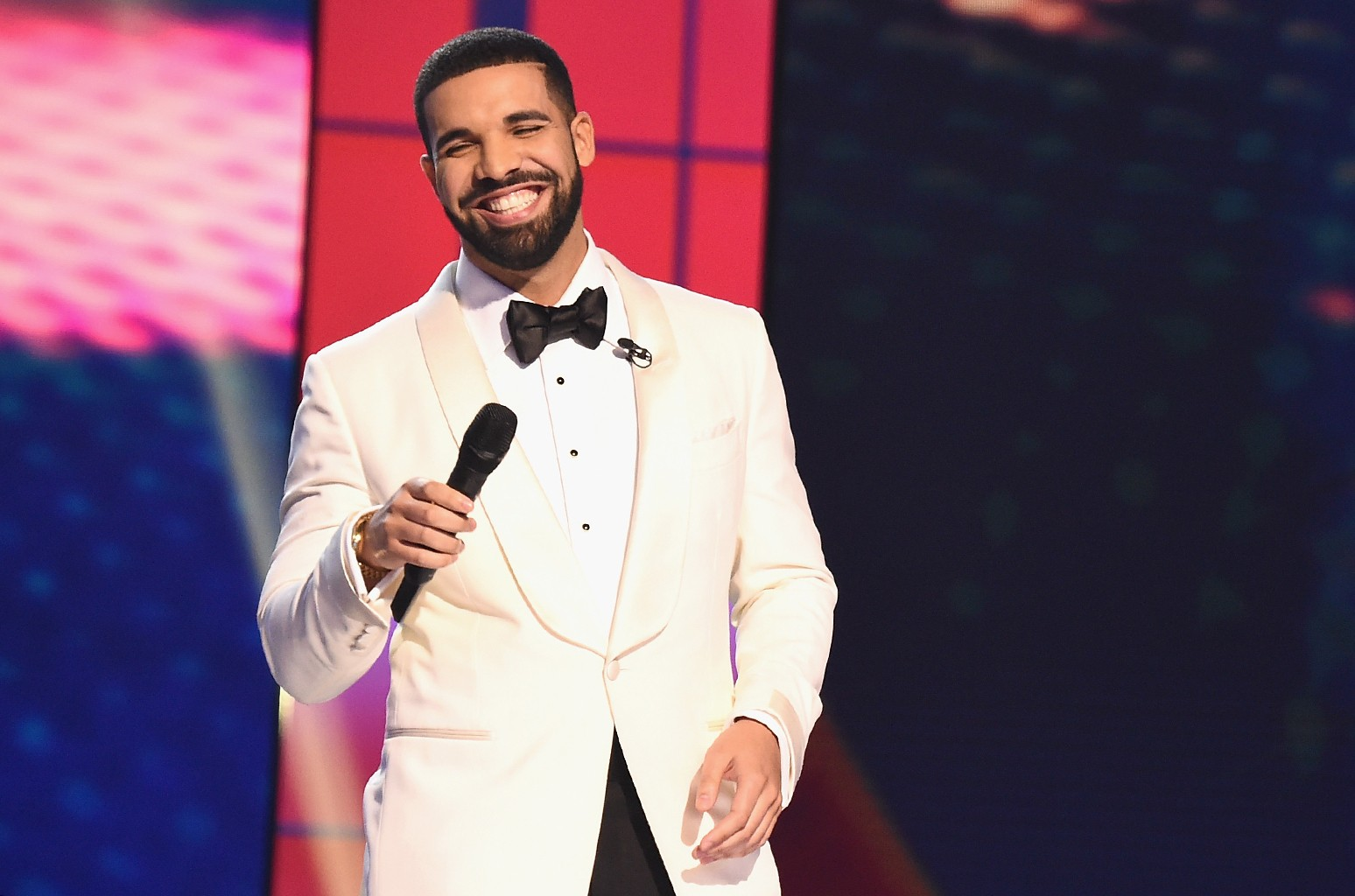 Drake speaks during the 2017 NBA Awards Live On TNT on June 26, 2017 in New York City.