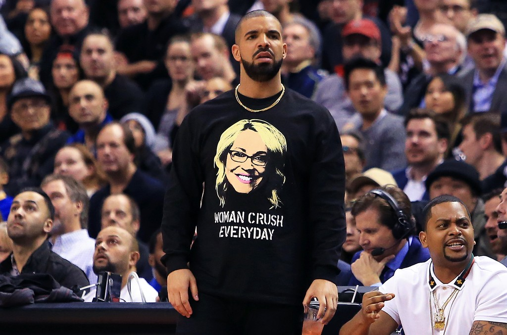 Drake during Drake Night