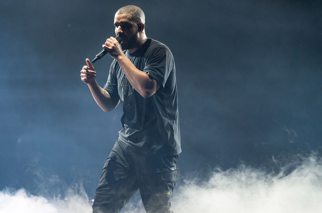 Drake performs at the O2 Arena in London on Feb. 1, 2017.