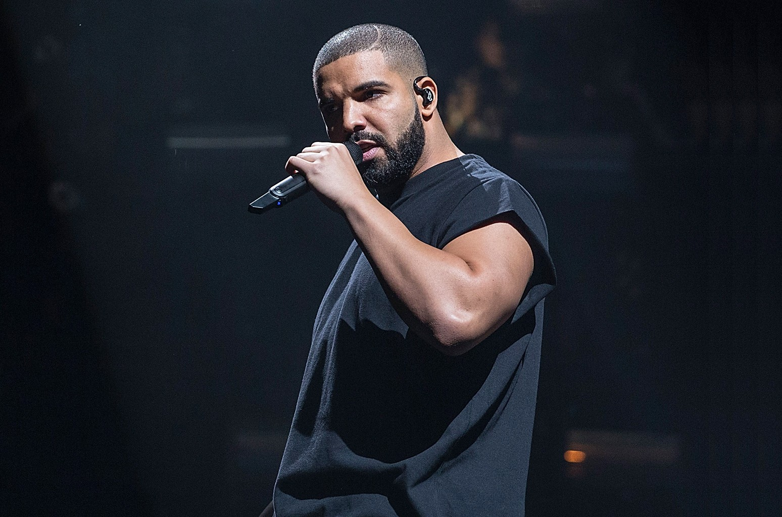 Drake performs at Austin City Limits Music Festival