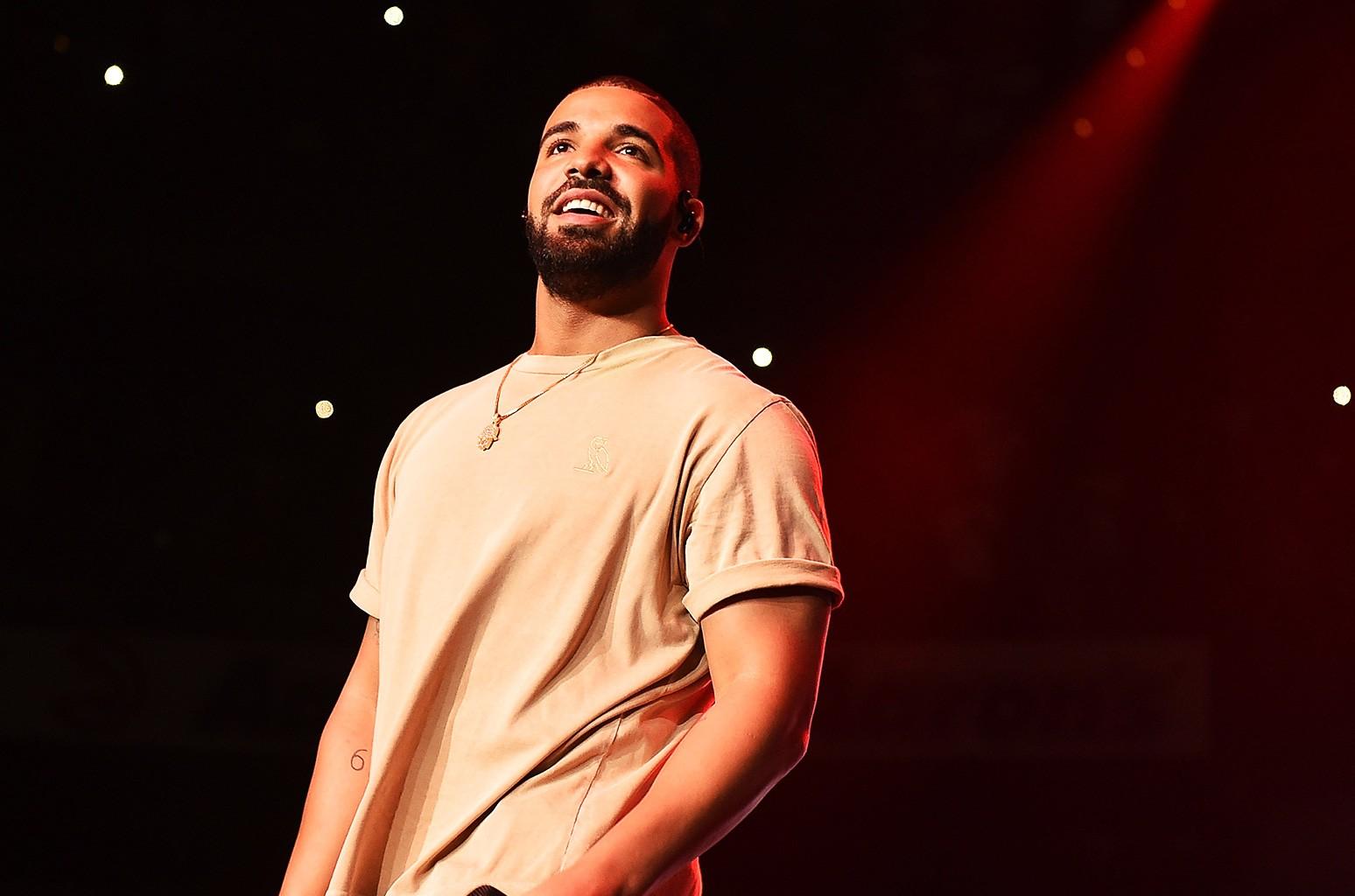 Drake at 2015 Hot 107.9 Birthday Concert